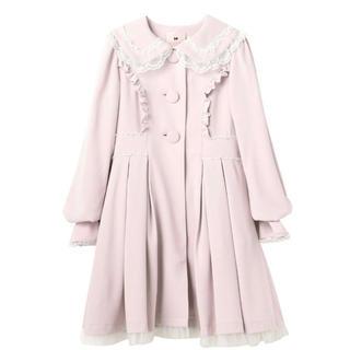 ロディスポット(LODISPOTTO)のCreamy Honeyドレスアップコート mille fille closet(ロングコート)