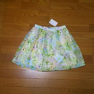 リランドチュール(Rirandture)の新品未使用タグ付き リランドチュール ガーデンフラワー スカート(ミニスカート)