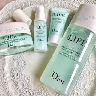 Dior - 【季節限定コフレ8,738円相当】ライフ クリーム 美容液 アイジェル 化粧水