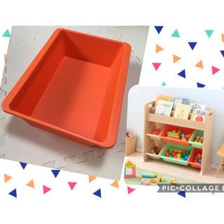 アイリスオーヤマ(アイリスオーヤマ)のトイハウスラック おもちゃ収納 本棚 ボックス アイリスオーヤマ BOX ケース(収納/チェスト)