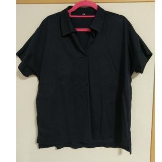ユニクロ(UNIQLO)のUNIQLO オーバーサイズスキッパーポロシャツ(ポロシャツ)