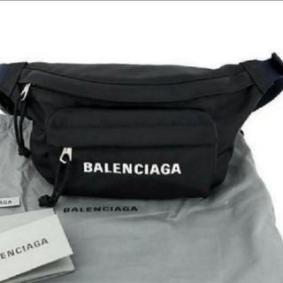 Balenciaga - バレンシアガ ウエストポーチ ヒップバッグ ウィールベルトバッグ 黒
