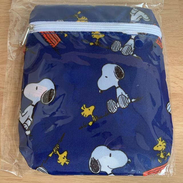 SNOOPY(スヌーピー)のスヌーピー  エコバッグ エンタメ/ホビーのおもちゃ/ぬいぐるみ(キャラクターグッズ)の商品写真