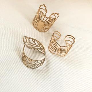 エイチアンドエム(H&M)の最終お値下げ H &M  指輪 3つセット(リング(指輪))