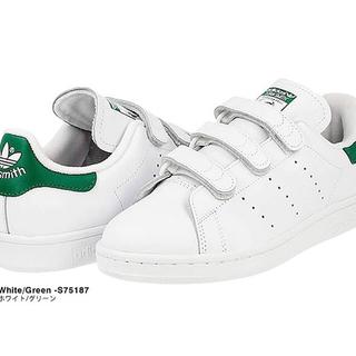 adidas - 激安★adidas アディダス スニーカー スタンスミス ベルクロ 緑 22.5