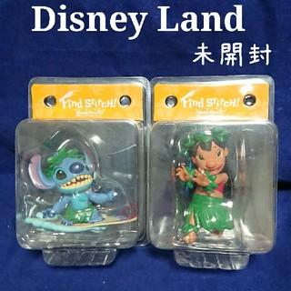 Disney - ディズニーランド 非売品 オーナメント リロ スティッチ フィギュアリン 未開封