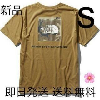 THE NORTH FACE - 送料込み Sサイズ ノースフェイス Tシャツ カーキ ボックスロゴ