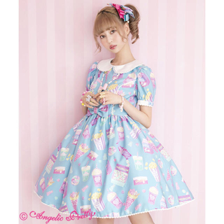 Angelic Pretty - Fancy Candy ワンピース サックス