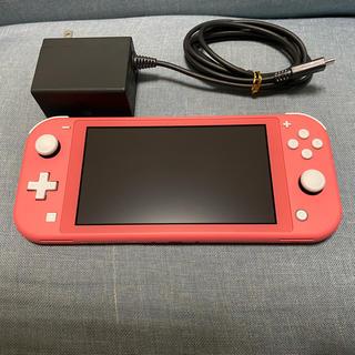 Nintendo Switch - 【美品】Nintendo Switch Lite コーラル