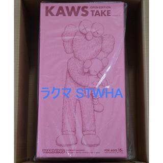 新品 KAWS TAKE PINK ピンク