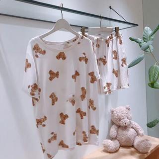 gelato pique - ベアモチーフTシャツ&ショートパンツ&セット