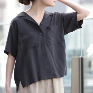 ビームス(BEAMS)のB:MINGbyBEAMS レーヨンオープンカラーシャツ(シャツ/ブラウス(半袖/袖なし))
