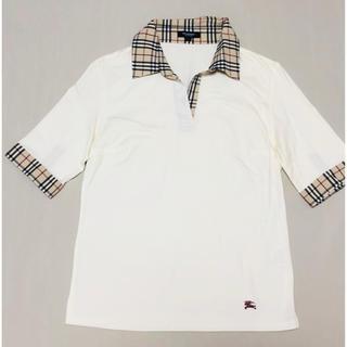 BURBERRY - バーバリー BURBURRY チェック トップス ポロシャツ