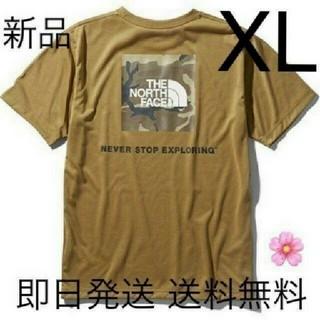 THE NORTH FACE - 送料込み XLサイズ ノースフェイス Tシャツ カーキ ボックスロゴ