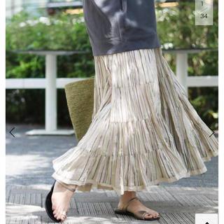 IENA - 完売 イエナ  【MARIHA/マリハ】草原の虹のスカート 36