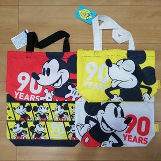 ミッキーマウス(ミッキーマウス)のミッキー ランチトートバッグ エコバッグ 4個セット(エコバッグ)