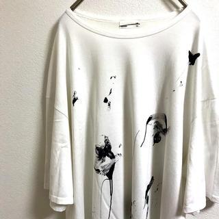 LAD MUSICIAN - ラッドミュージシャン 水墨柄 ペイント柄 ビッグtシャツ 未使用に近いです