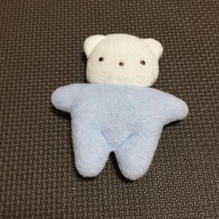 ファミリア(familiar)の新品!Playgro♡くまさんマスコット/ファミリア (ぬいぐるみ/人形)