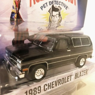 シボレー(Chevrolet)のGLグリーンライト/'89 Chevyシボレー Blazerブレイザー 1/64(ミニカー)