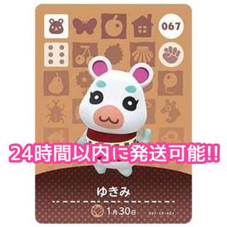 Nintendo Switch - どうぶつの森 amiiboカード ゆきみ