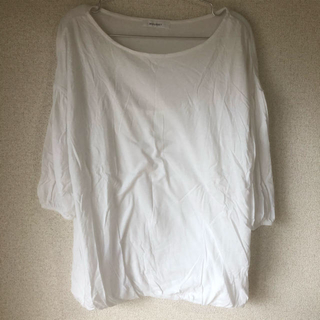 マウジー(moussy)のマウジー / MOUSSY Tシャツ 七分袖 白/ホワイト系 中古品ジャンク扱い(Tシャツ(長袖/七分))