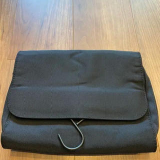 ムジルシリョウヒン(MUJI (無印良品))の無印良品 吊せるケース 黒(旅行用品)