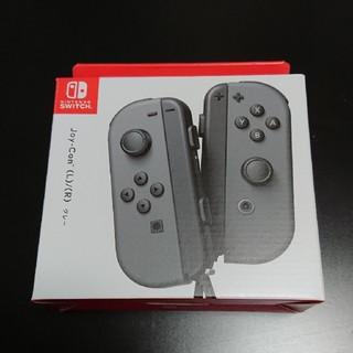 任天堂 - Nintendo Switch joyconグレー 新品、未使用