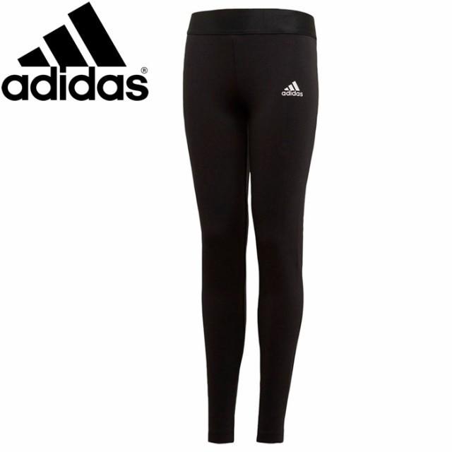 adidas(アディダス)の新品 タグ付160cm adidas スリーストライプス レギンス キッズ/ベビー/マタニティのキッズ服女の子用(90cm~)(パンツ/スパッツ)の商品写真