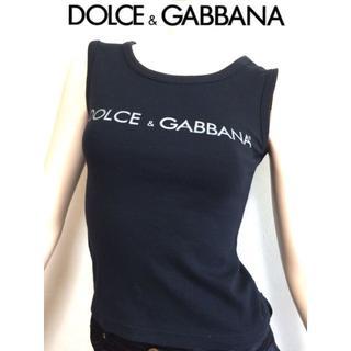 ドルチェアンドガッバーナ(DOLCE&GABBANA)のDOLCE & GABBANA ドルガバ D&G ノースリーブ tシャツ(Tシャツ(半袖/袖なし))