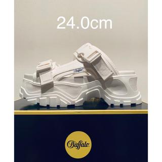 バッファロー(Buffalo)の新品 Buffalo London バッファロー 厚底 サンダル 24.0cm(サンダル)