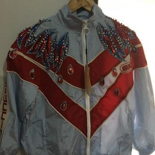 モンクレール(MONCLER)のグッチ 上下セット刺繍ジャケット(ミリタリージャケット)