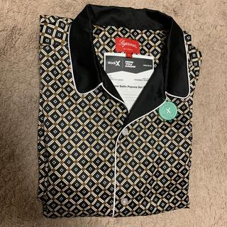 Supreme - Lサイズ 20SS Supreme Satin Pajama Set Black