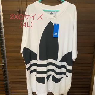 adidas - アディダスオリジナルス ビッグ トレフォイル ボクシー Tシャツ 2XO