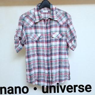ナノユニバース(nano・universe)のnano・universe(ナノユニバース)チェックシャツ(シャツ)