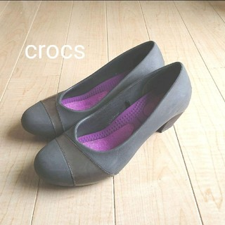 クロックス(crocs)の【セール】クロックス crocs レインシューズ レインパンプス W7(レインブーツ/長靴)