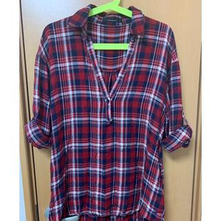 ページボーイ(PAGEBOY)のチェックシャツ(シャツ/ブラウス(長袖/七分))