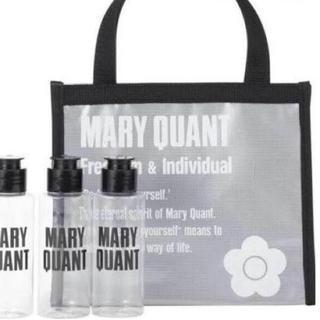 マリークワント(MARY QUANT)のマリークワント スパバッグ(白)&ボトル3本セット(その他)