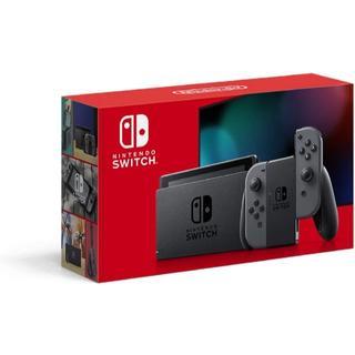 Nintendo Switch - Nintendo Switch 本体 グレー 新品未開封