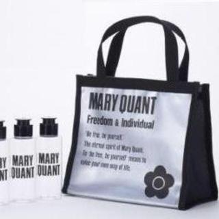 マリークワント(MARY QUANT)のマリークワント スパバッグ(黒)&ボトル3本セット(その他)