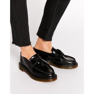 ドクターマーチン(Dr.Martens)のDr.Martens ADRIAN BK UK4  エイドリアン ローファー(ローファー/革靴)