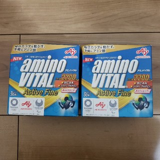 アジノモト(味の素)のアミノバイタル ActiveFine 60本(アミノ酸)