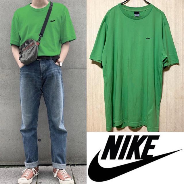NIKE(ナイキ)の90's NIKE ナイキ Tシャツ ビッグスウォッシュ boxlogo メンズのトップス(Tシャツ/カットソー(半袖/袖なし))の商品写真