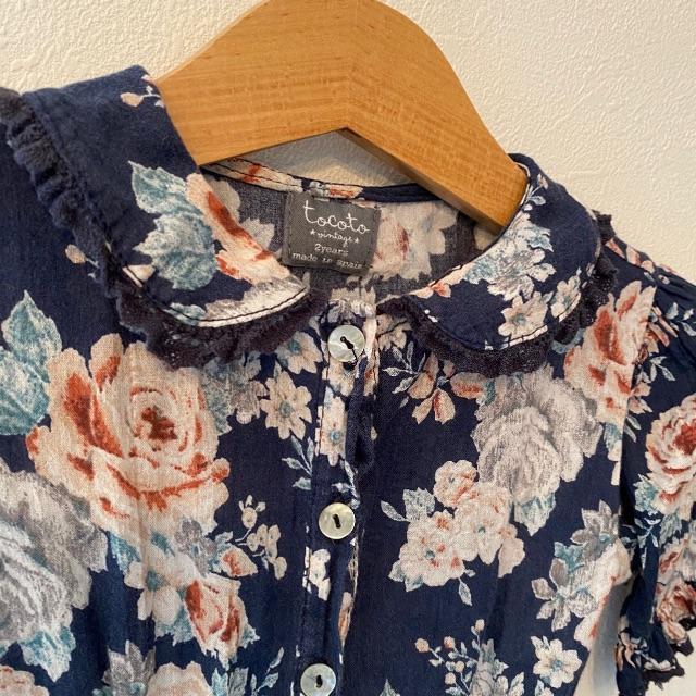 Caramel baby&child (キャラメルベビー&チャイルド)のtocotovintage   ワンピース   2y キッズ/ベビー/マタニティのベビー服(~85cm)(ワンピース)の商品写真