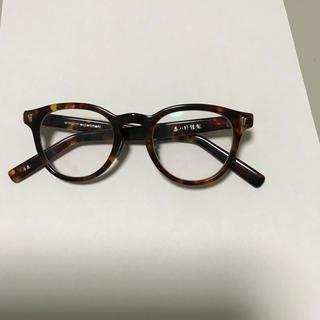 ユニフォームエクスペリメント(uniform experiment)の18aw uniform experiment  泰八郎 眼鏡 サングラス(サングラス/メガネ)