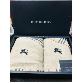 バーバリー(BURBERRY)のBURBERRY バーバリー タオルセット(タオル/バス用品)