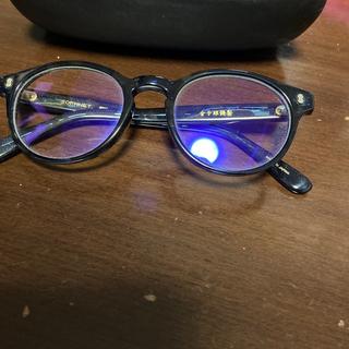 ソフ(SOPH)のSophnet  備長炭配合 金子眼鏡 度なし サングラス(サングラス/メガネ)