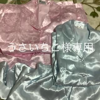 パジャマ 上下 ピンクとブルーセット 衣装 仮装(衣装一式)