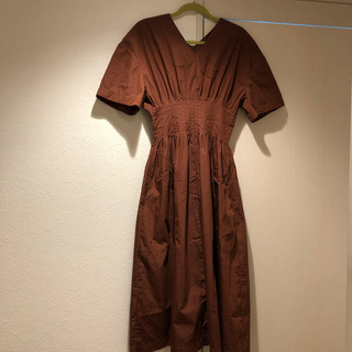 LE CIEL BLEU - ルシェルブルー ラウンドフォームサマードレス
