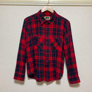エイチティーエムエル(html)のHTML ZERO3 チェック柄ネルシャツ Mサイズ(シャツ)