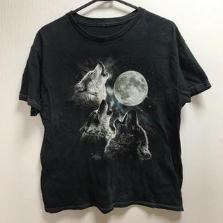 多分レディースMサイズぐらい オオカミ Tシャツ 半袖(Tシャツ(半袖/袖なし))
